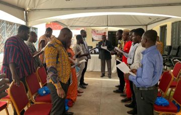 Inauguration of the Ayawaso a Central Youth Parliament, ACMA